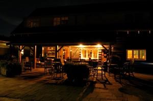 Veranda by night