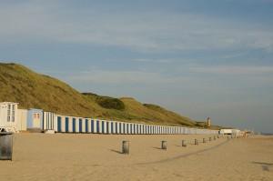Het strand bij Dishoek