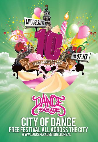 Danceparade Middelburg 2010