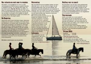 Vakantie met uw eigen paard in het mooie Zeeland