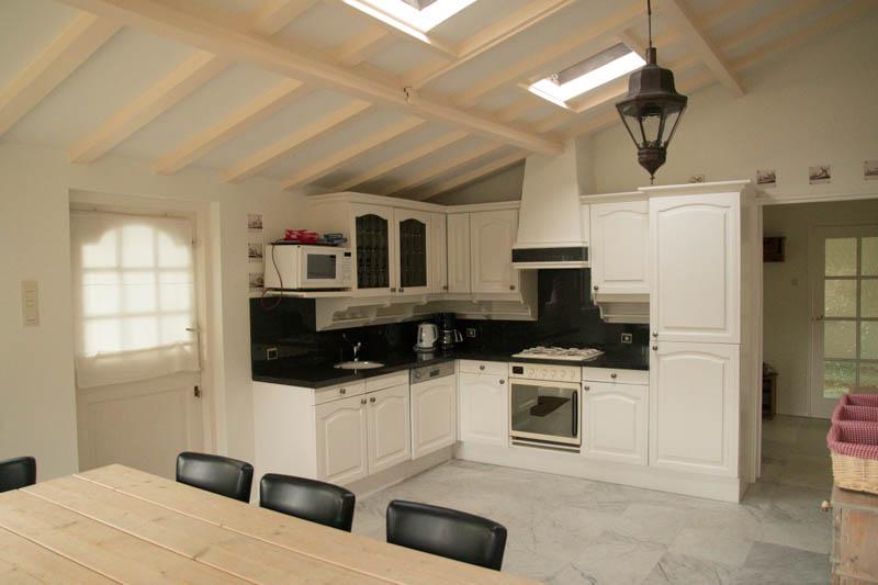 Nieuwe keukens in de verschillende accommodaties