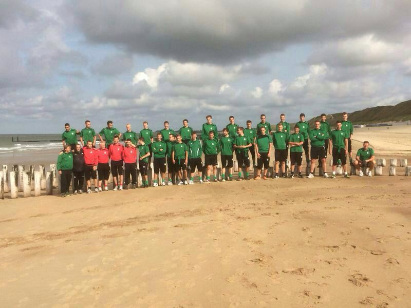 Voetbalvereniging WHS bij Ride by the Sea