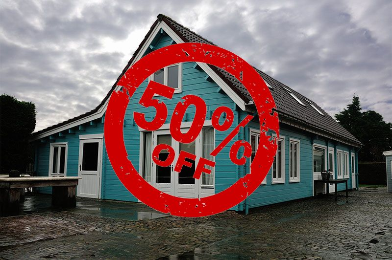 LAST MINUTE met 50 % korting op diverse accommodaties Ride by the Sea