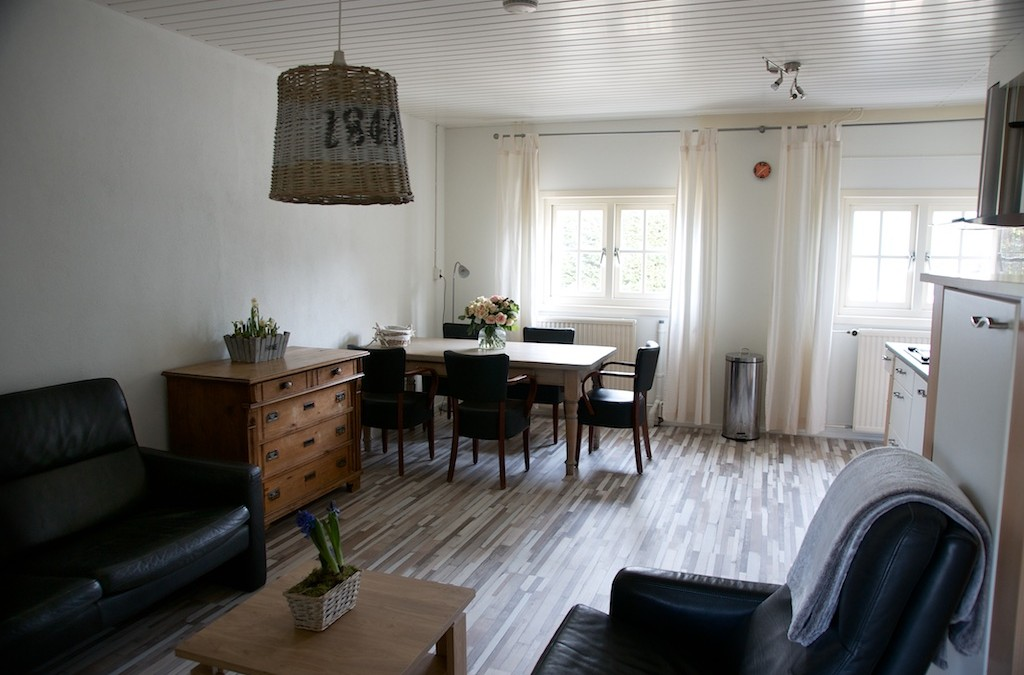 Restyled Appartement bij Ride by the Sea sinds 1 april ook weer in de verhuur