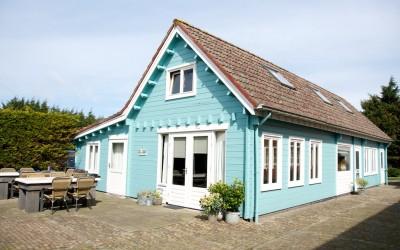 15 % Korting op huurprijs Blauwe Huis, weekend 23-26 September, max 12 personen
