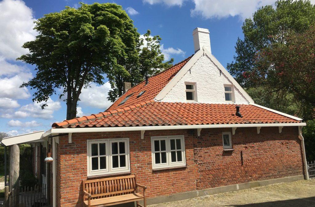 Schilderwerk Zeeuws Boerenhuis afgerond.