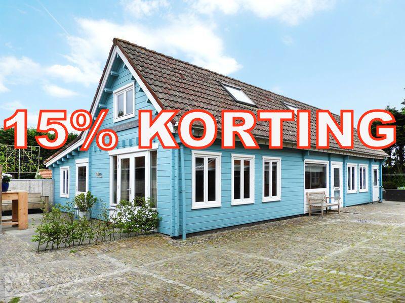 15 % KORTING aankomend WEEKEND/MIDWEEK/WEEK